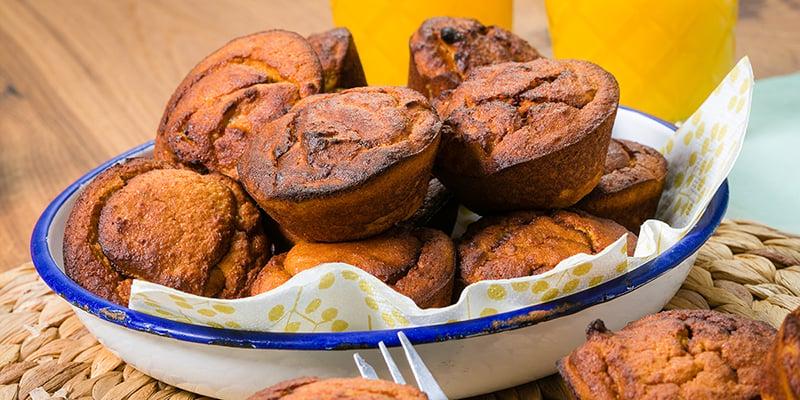 EAT ME lunch recept - Zoete aardappelmuffins